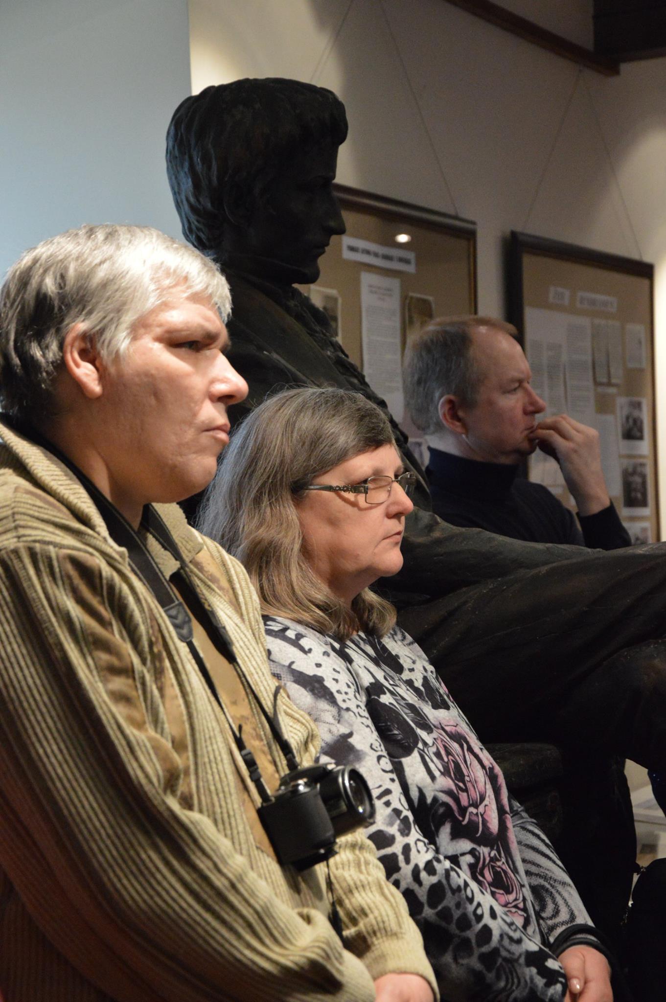 Skulptorių paminėjimas Žiemgalos muziejuje