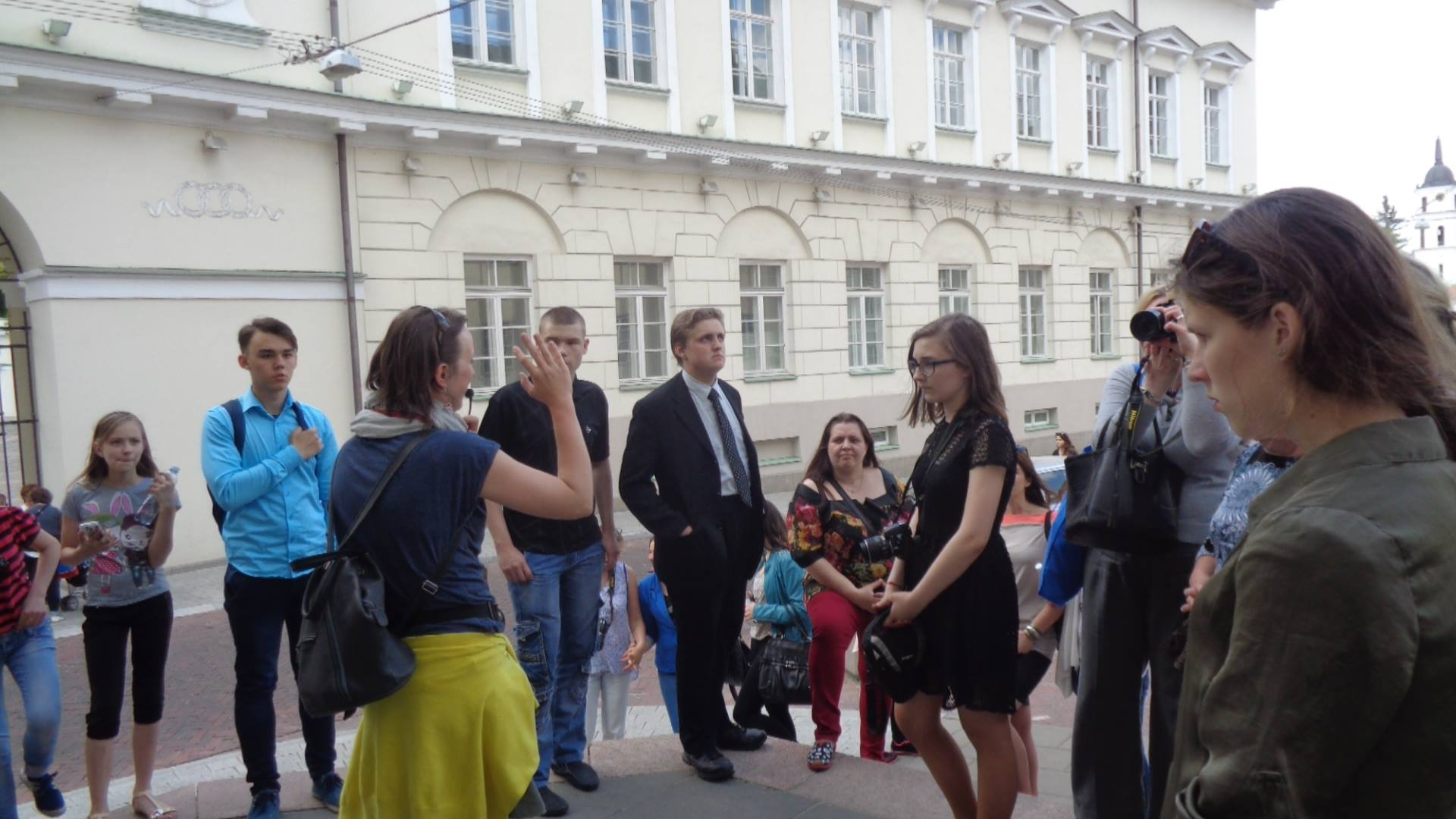 Gimnazistų viešnagės Vilniuje akimirkos